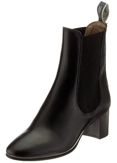 Marc O' Polo Flat Heel Bootie 70914296001127, Bottes Souples Femme, Schwarz (Black), 42 EU