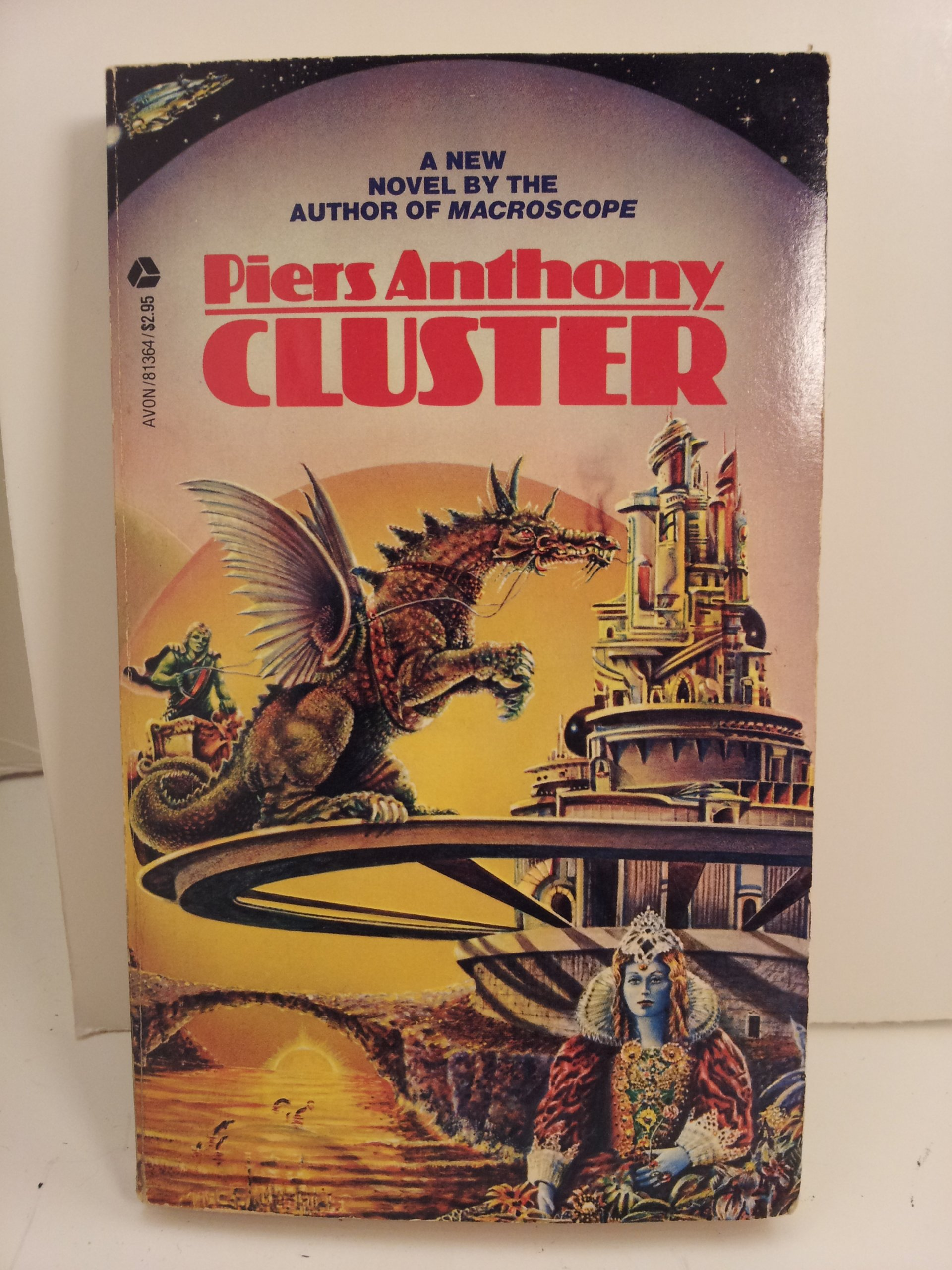 Cluster (Cluster, Book 1), Anthony, Piers