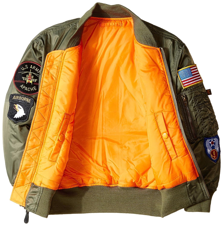 Amazon.com: Chaqueta de bombardero MA-1 de Alpha Industries ...