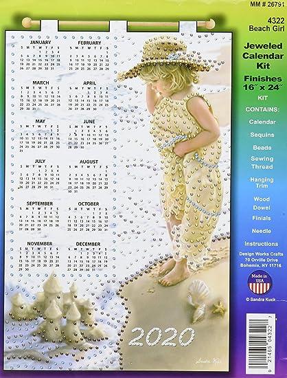 Design Works Crafts DWC4351 Calendar 2020 FrontierHardware
