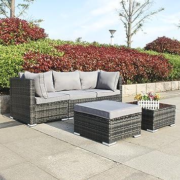 Luxus Poly Rattan Gartenmöbel Einfach Outdoor Mobel Lounge ...