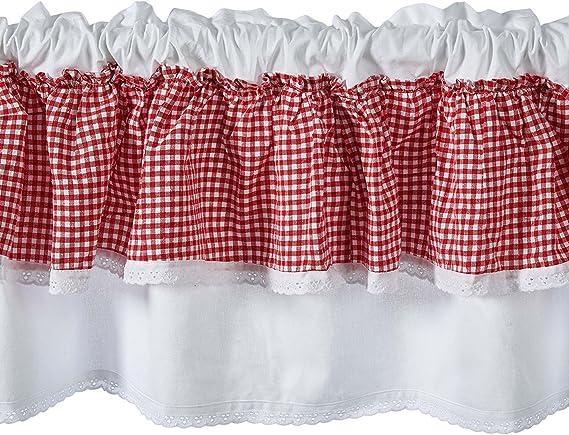 WINOMO Rideaux Voilages Oeillets Transparent Rideau pour Chambre Salon D/écoration 100x200cm Beige