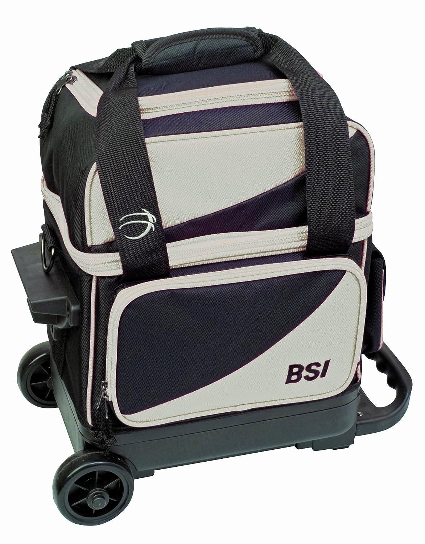 【正規品質保証】 BSI ブラック シングルボールローラー One ボウリングバッグ Size One Size ブラック B00B1940L4, 手紡ぎ 織り 羊毛 の ラメール:3e4d5986 --- eastcoastaudiovisual.com
