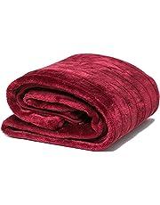 Airee Fairee Mantas de Cama para Sofa y Colchas de Sofa Mantas Piel Sintética y Reverso