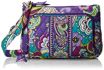 38fd98b602 Vera Bradley Little Hipster 3 Crossbody Bag