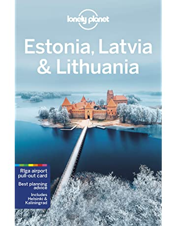 4th Edition Latvia /& Lithuania 4th Ed. Lonely Planet Estonia