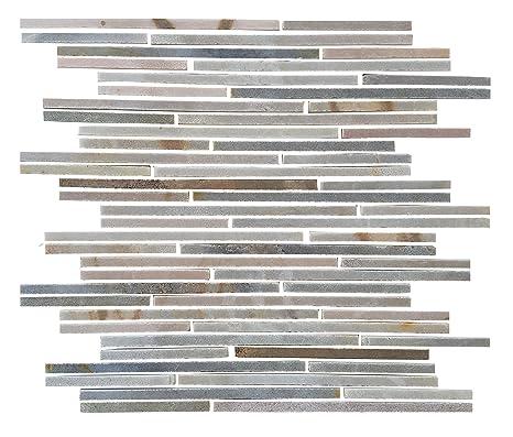 abolos braun rot Brick wie Linear Slate Desert grau Mosaik ...