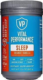 product image for Vital Performance Sleep Orange Vanilla- Natural Sleep Aid with GABA and L-Theanine