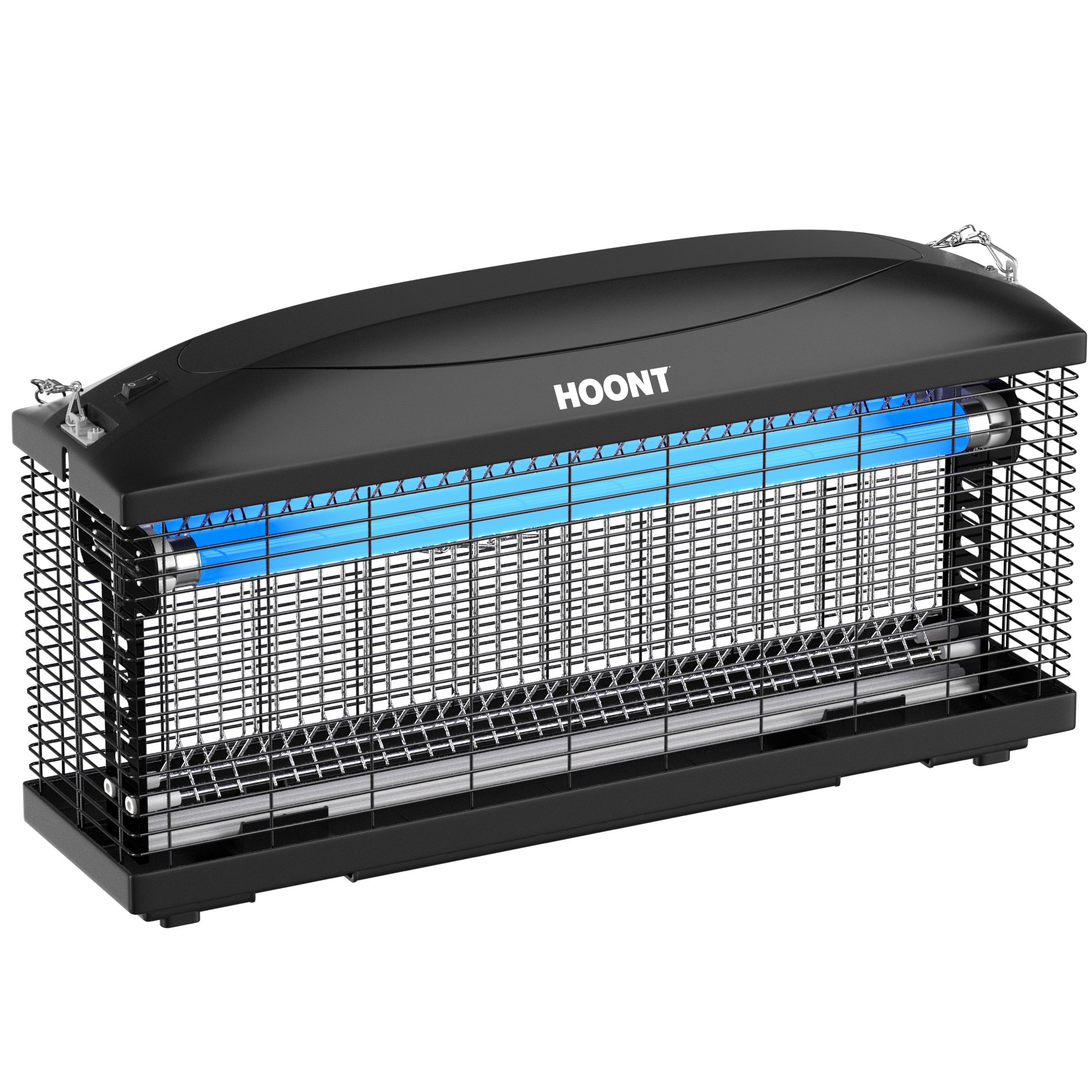 Hoont Powerful Electric Indoor Bug Zapper and Fly Zapper Catcher Killer Trap – Protects 6,000 Sq. Ft / Bug and Fly Killer, Insect Killer, Mosquito Killer – For Residential and Commercial Use by Hoont