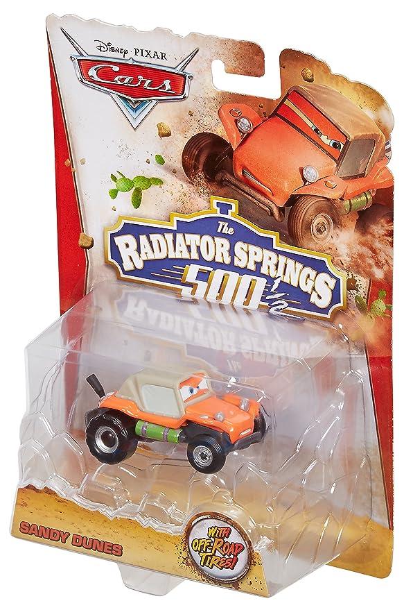Cars 2 - Vehículos todoterreno Sandy Dunes (Mattel BDF64): Amazon.es: Juguetes y juegos