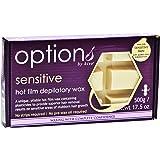 Hive Options Sensitive Hot Film Brazilian Depilatory Wax Block Low Allergy Risk Formulation 500g