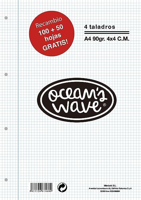 OceanŽs Wave OCW70020 - Recambio A4: Amazon.es: Oficina y ...
