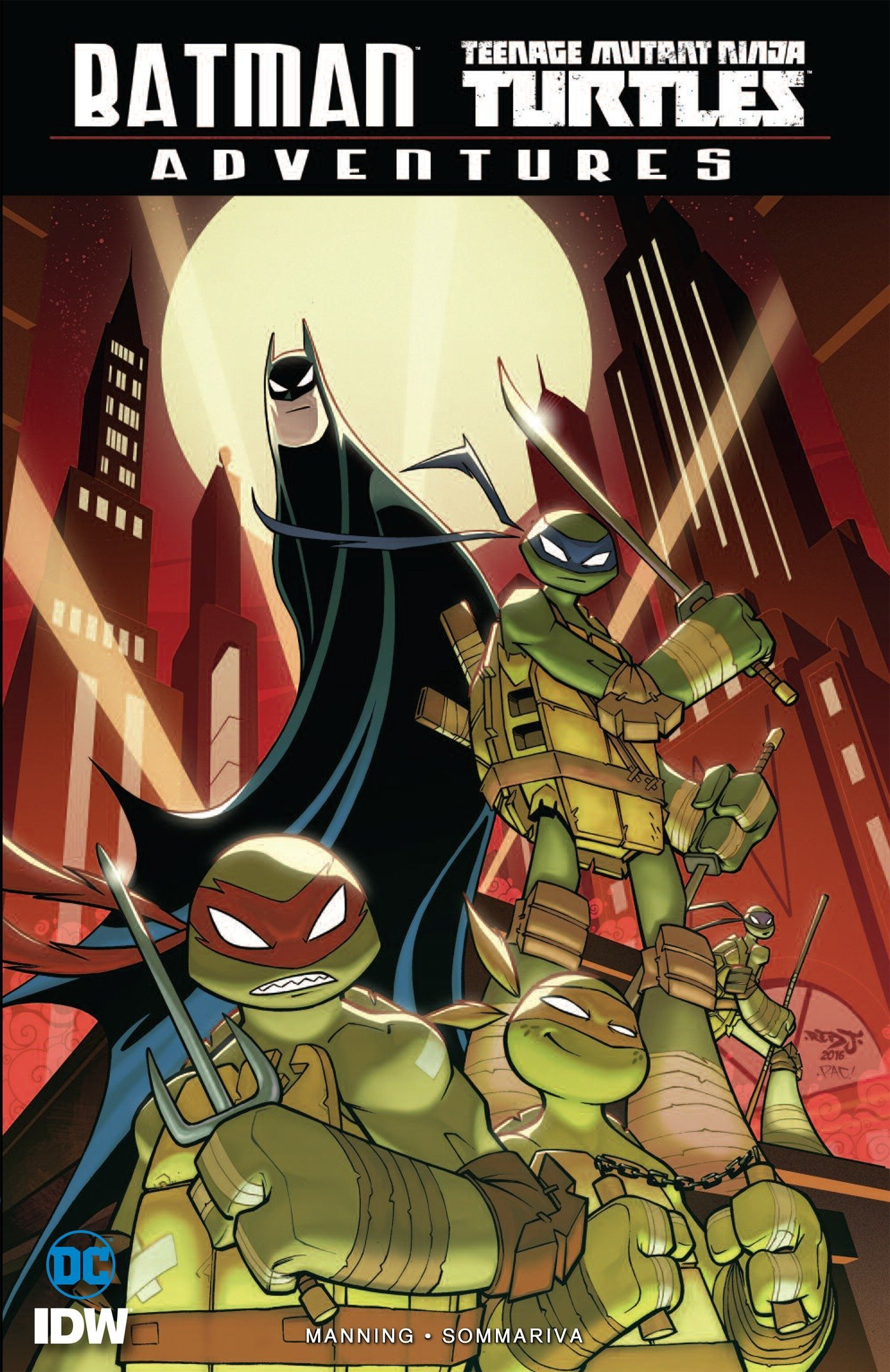 Amazon.com: Batman/Teenage Mutant Ninja Turtles Adventures ...