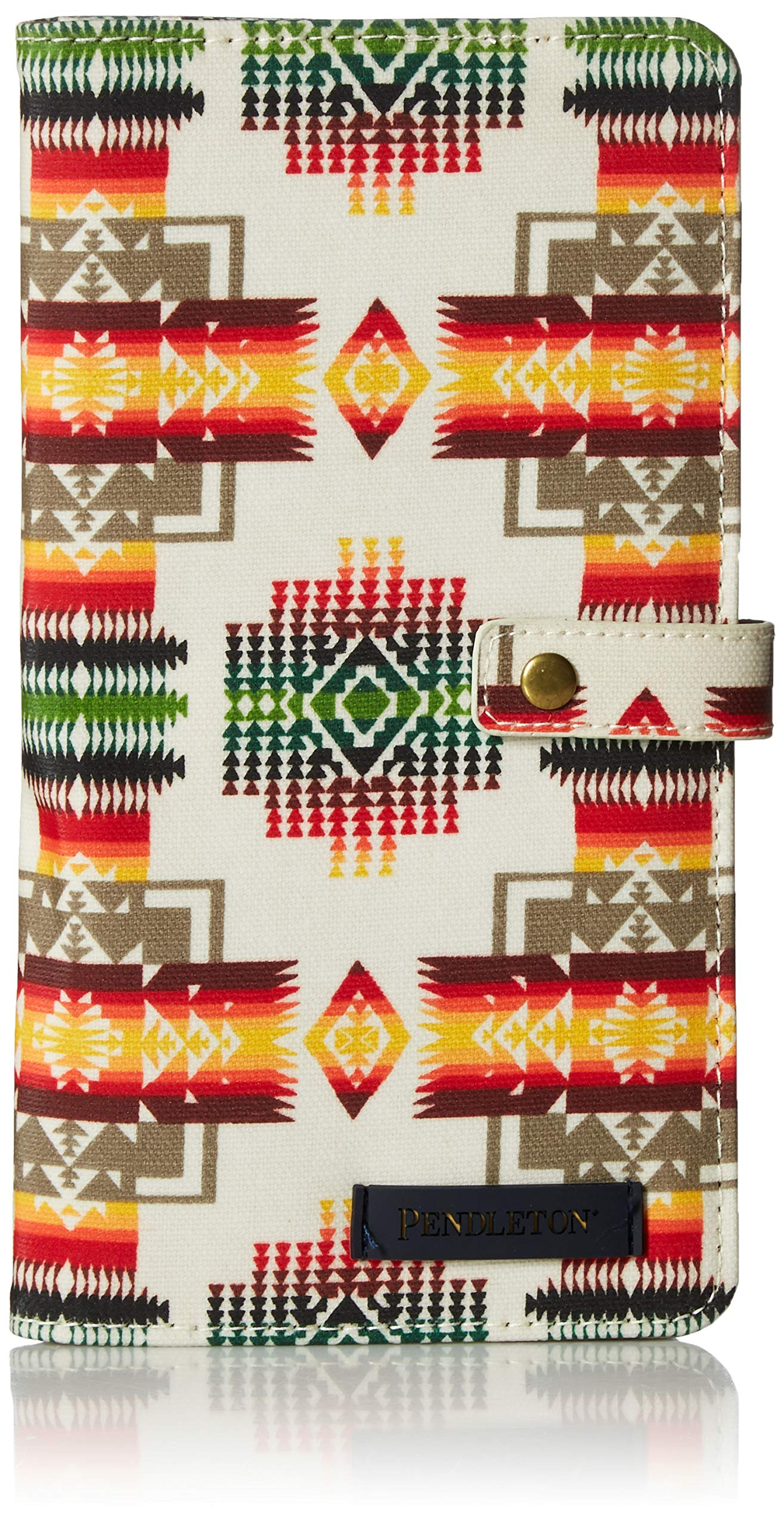 Pendleton Women's Canopy Canvas Passport Case, Chief Joseph, One Size by Pendleton