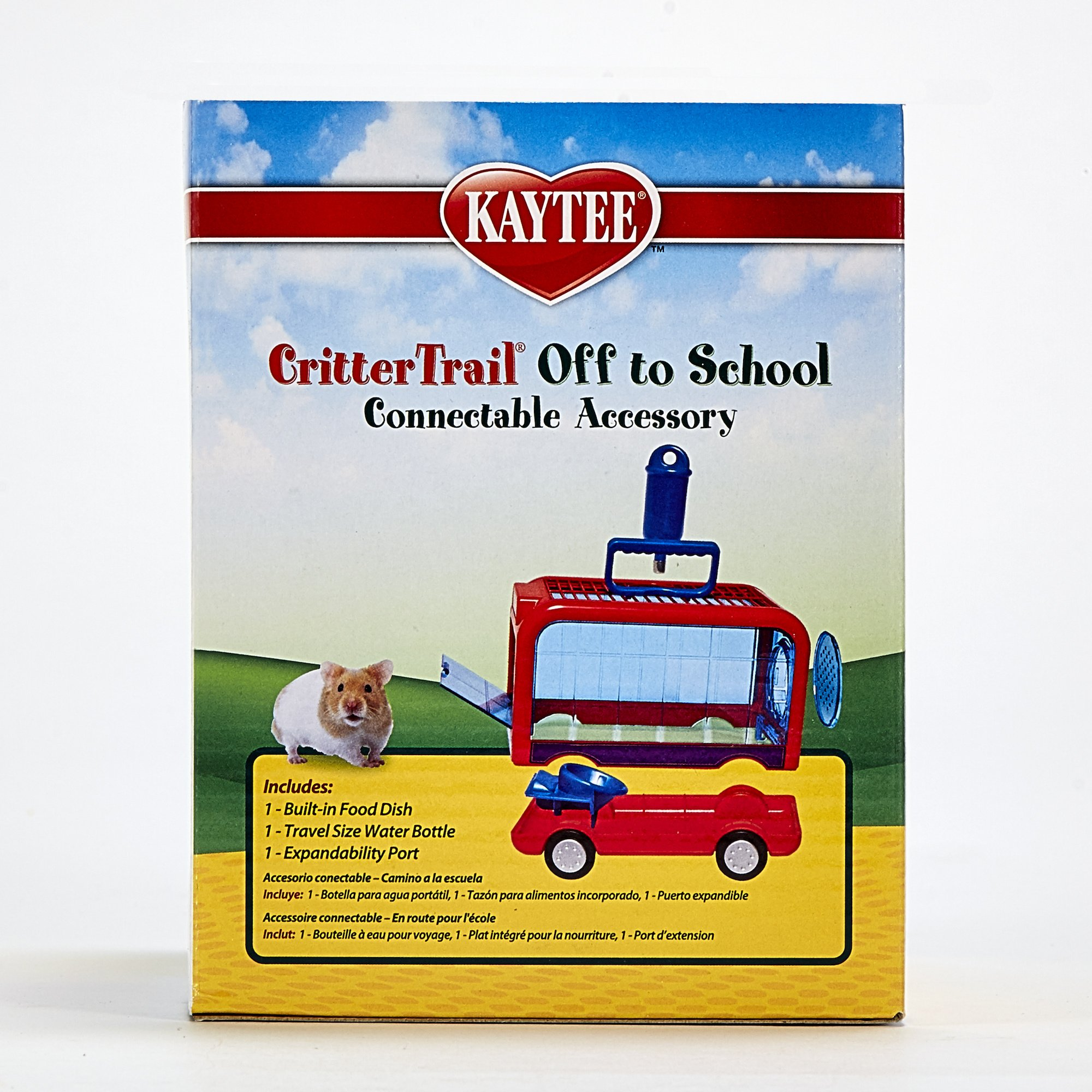 Kaytee Crittertrail Off To School Pet Carrier, Assorted Colors
