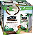 So Delicious Dairy-Free Organic Coconutmilk Beverage, Unsweetened, 32 Ounce (Pack of 6) Plant-Based Vegan Dairy Alternative, Great in Smoothies Protein Shakes or Cereal