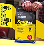 SPILLFIX - 2 in 1 Spill Absorbent & Sweeping