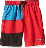Zoggs Boys' Swim Deck Panelled Swimming Shorts
