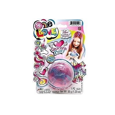 J JaRu Unicorn Putty Assorted: Toys & Games