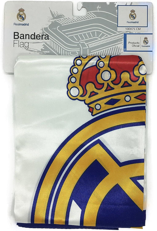 Producto Oficial Real Madrid Bandera del Real Madrid (Escudo con ...