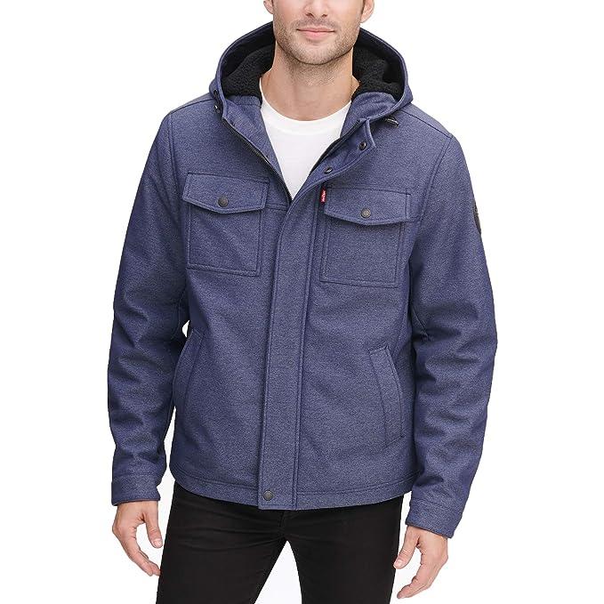 Amazon.com: Levis - Chaqueta con capucha para hombre con ...