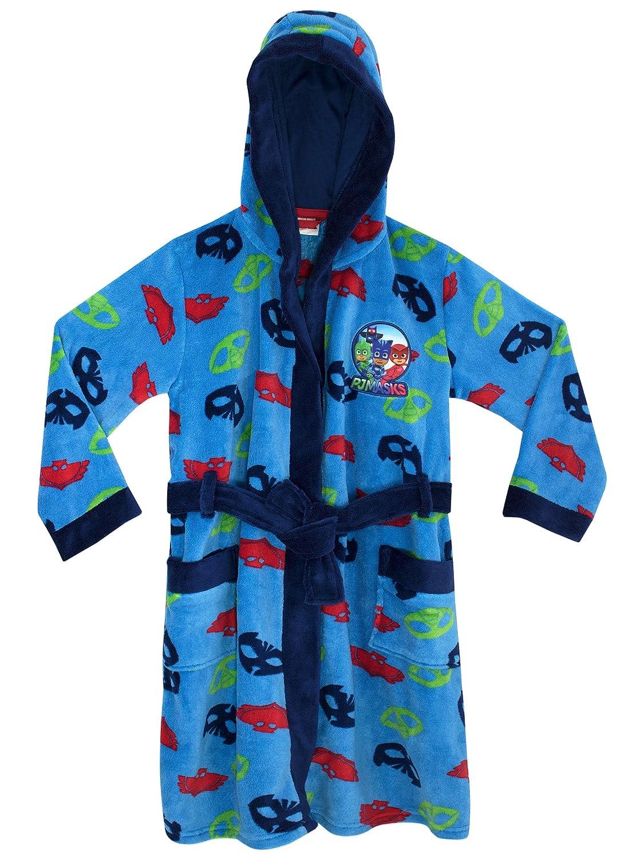 PJ MASKS Boys PJ Masks Dressing Gown Size 5