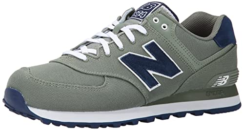 NEW BALANCE ml 574 HRC Hombre Trainers, Color Verde, Talla 45.5 EU: Amazon.es: Zapatos y complementos