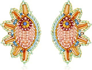 product image for Miguel Ases Swarovski Cone Cuff Drop Earrings