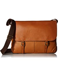f7346e2449 Fossil Men s Buckner Laptop Messenger Bag Brown One Size