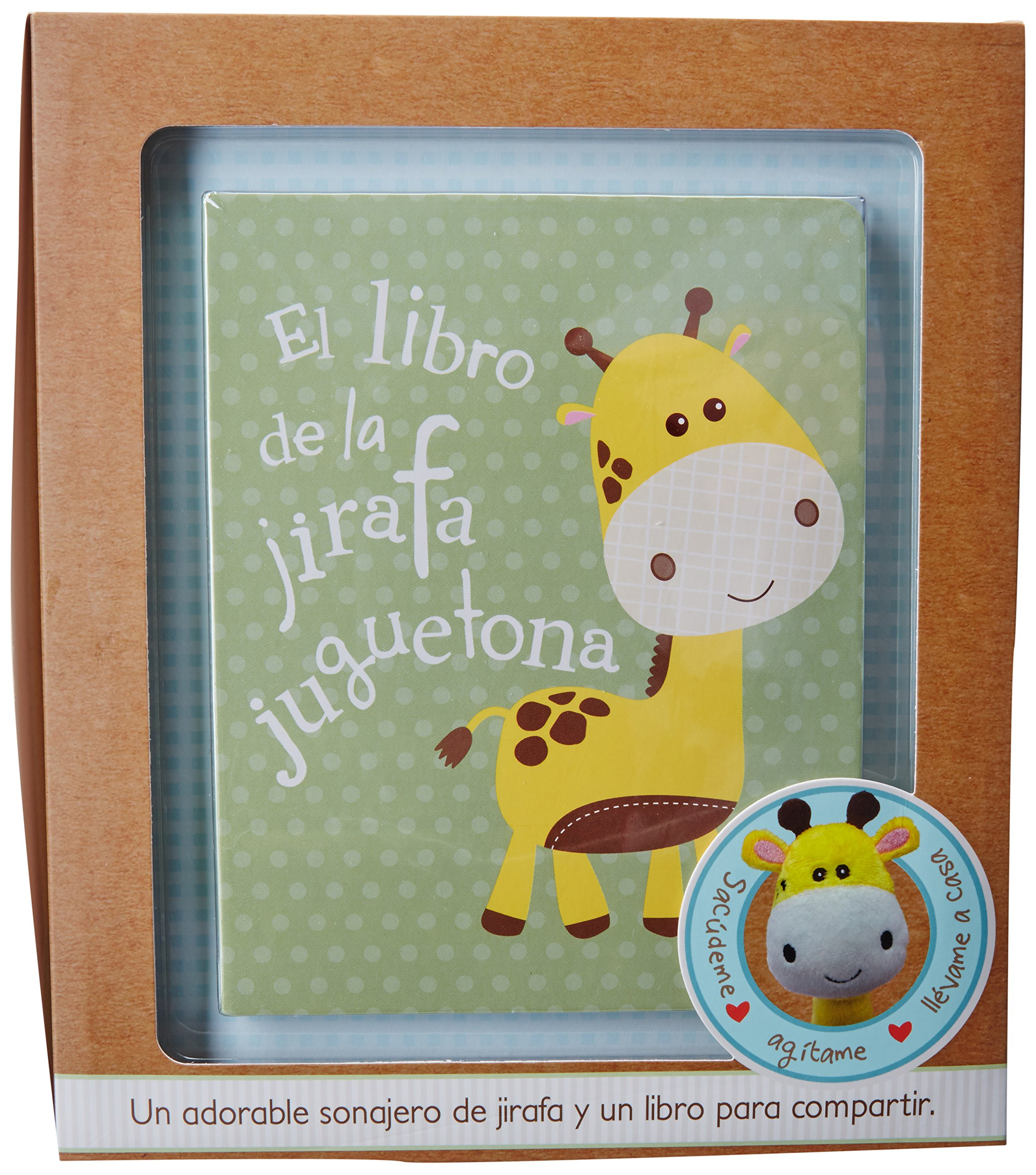 Jirafa Juguetona - Libro y sonajero de puluche (Little Learners) (Spanish Edition): Parragon Books: 9781472349842: Amazon.com: Books