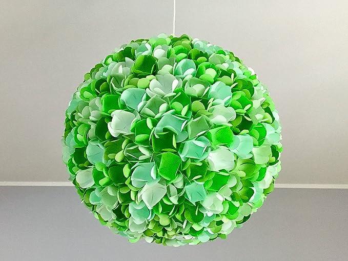 Lampadario Carta Di Riso : Green rose lampada a sospensione paralume lampadario lampada