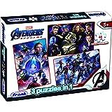 Frank 3 in 1 Marvel Avengers: Endgame Jigsaw Puzzle