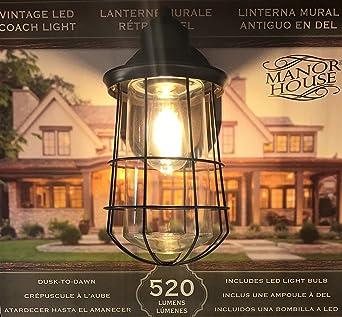 Manor House Vintage LED Coach Patio/Porch Light