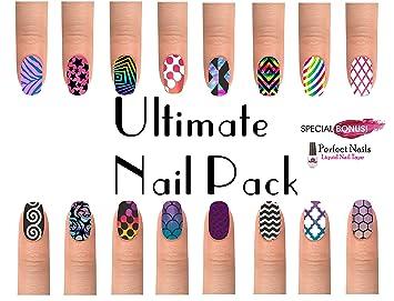 Amazon.com  Ultimate Nail Art Vinyl Pack 20 New Mega