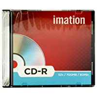 Imation CD Recordable Slime line 700 MB Pack of 10