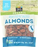 365 Everyday Value, Organic Almonds, Roasted & Salted, 10 oz