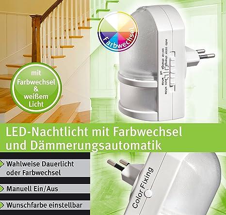 Trango LED luz de la noche con diseño de coche con diseño de on/off