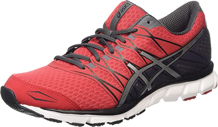 ASICS - Gel-Attract 4, Zapatillas de Running Hombre, Rojo (Racing Red/Silver/Iron 2393), 41.5 EU: Amazon.es: Zapatos y complementos