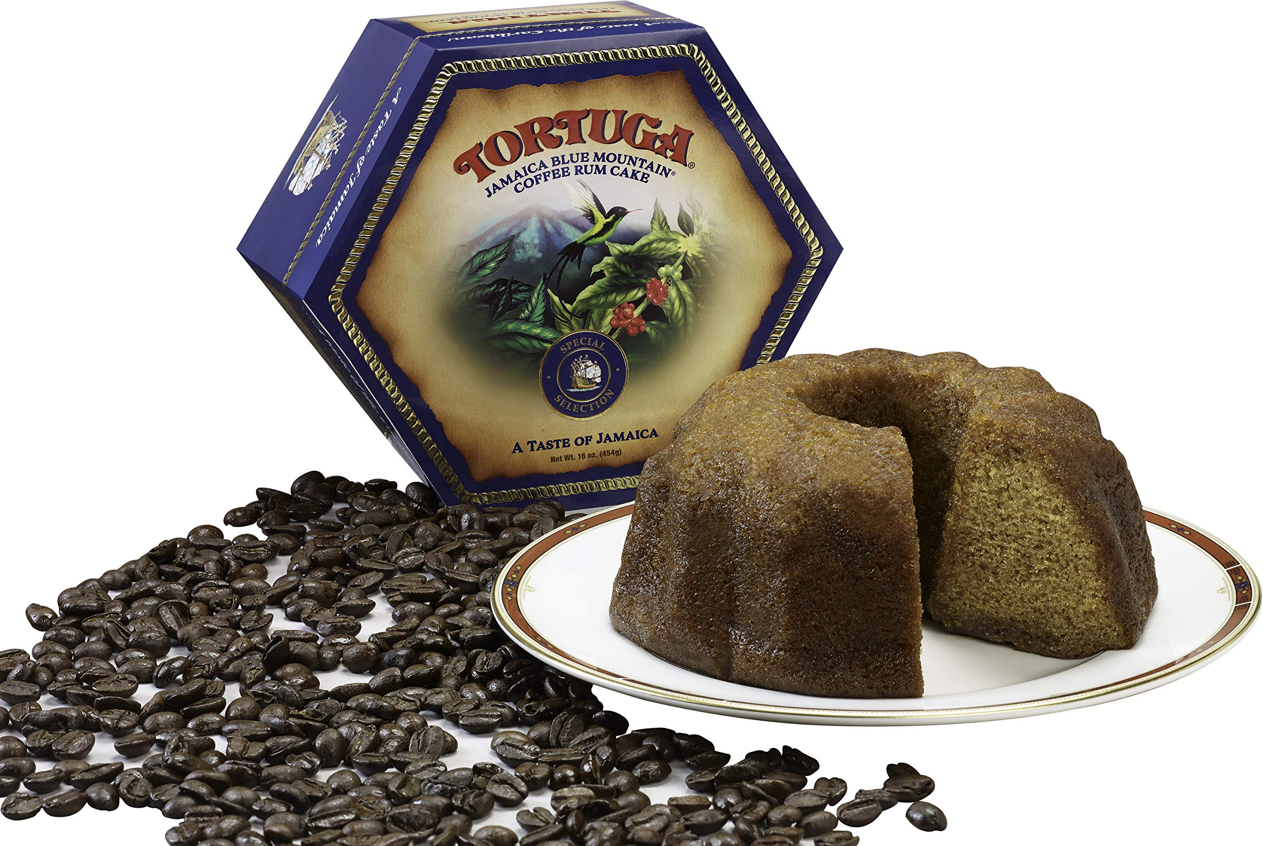 TORTUGA Caribbean Blue Mountain Rum Cake - 32 oz. - The Perfect Premium Gourmet Gift by TORTUGA (Image #5)