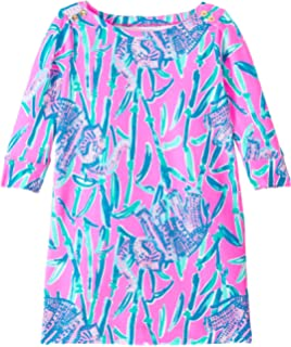 f68310773 Amazon.com  Lilly Pulitzer Kids Baby Girl s Mini Calla Romper ...