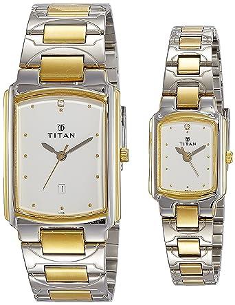 Bandhan Analog White Dial Couple's Watch -NK19552955BM01