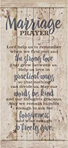 Marriage Prayer Wood Plaque Inspiring Quote 5.5x12 - Classy Vertical Frame Wall Hanging Decoration   Lord, Help us to Remember When we First met   Christian Family Religious Home Decor Saying
