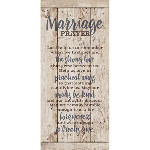 marriage prayer wood plaque inspiring quote 55x12 classy vertical frame wall hanging decoration