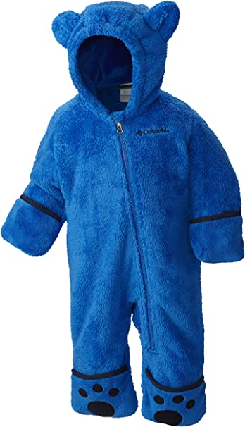 Columbia Enfant Combinaison Polaire Foxy Baby II Bunting Bleu Polyester Taille Super Blue//Collegiate Navy