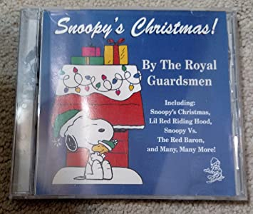 snoopys christmas by the royal guardsmen
