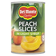 Del Monte Peach Slices in Syrup 420 g (Pack of 12)