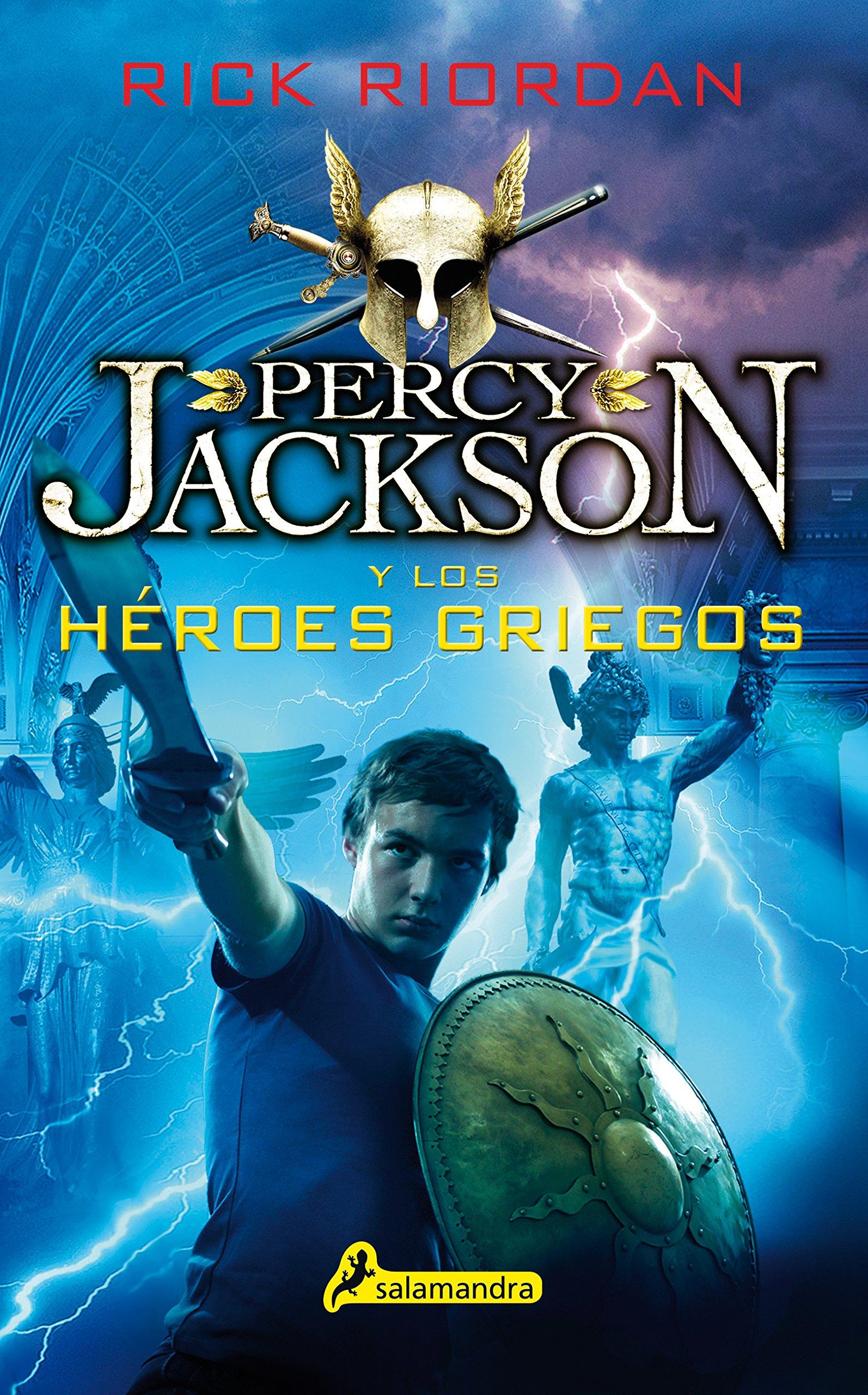 PERCY JACKSON Y LOS HÉROES GRIEGOS (Juvenil): Amazon.es: Rick Riordan: Libros