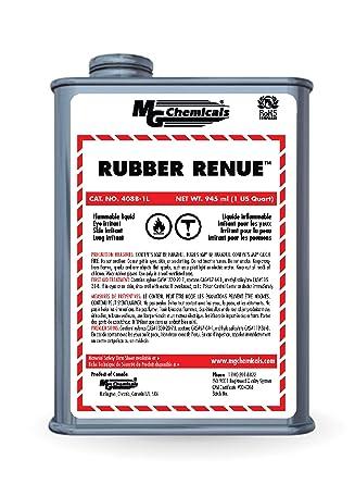 MG Chemicals 408B-1L Rubber Renue Liquid, CARB Compliant, 1 Quart Can