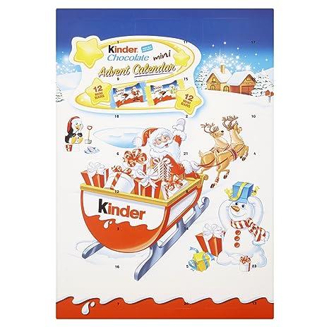 Calendario Para Kinder.Ferrero Kinder Calendario De Adviento Para Chocolates 135
