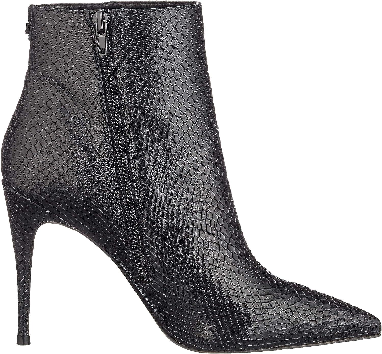 Guess Olanes/Shootie (Ankle Boot)/L, Bottes Classiques Femme Noir Black Black